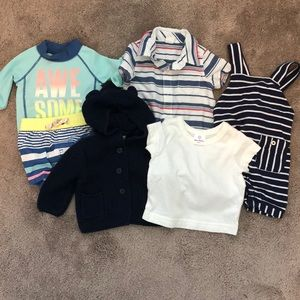 Baby Lot, 3-6 month, Gap, Hanna Andersson, Carters